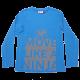 Bluză bleu Move Like a Ninja