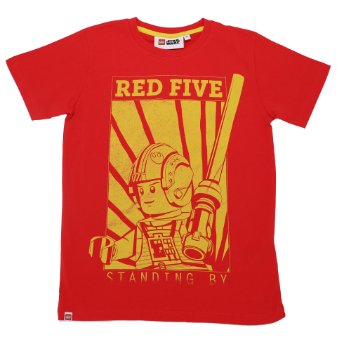 Tricou Red Five Standing By