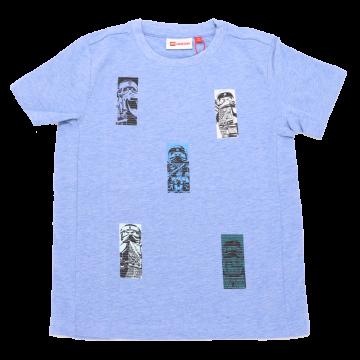 Tricou bleu Tiger 105