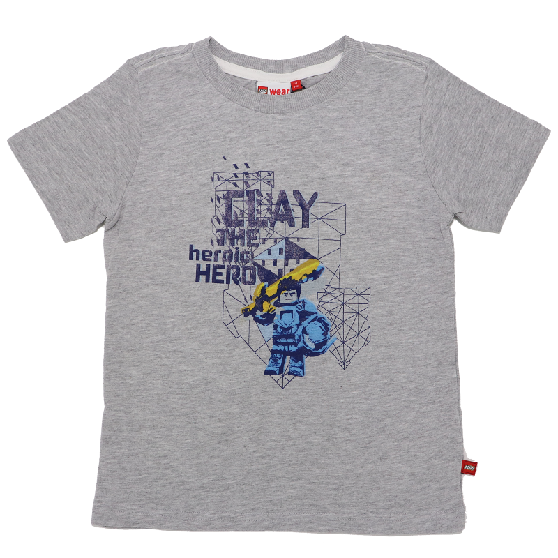 Tricou Clay the Heroic Hero