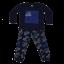 Pijama bleumarin cu mașinuțe
