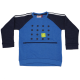 Bluză sport cu buzunar mare în față Sander 603