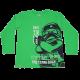 Bluză verde cu imprimeu mare Ninjago