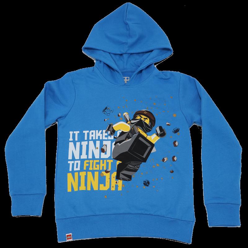 Bluză grosuță cu glugă Ninjago