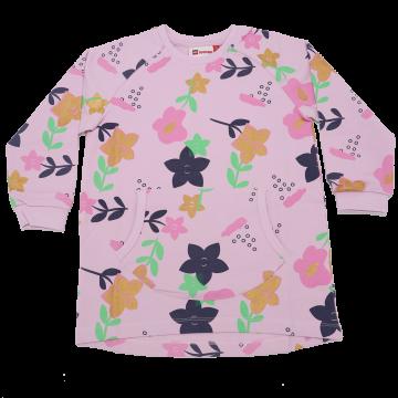Rochiță roz cu floricele Dione 101