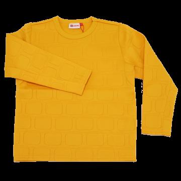 Bluză cu suprafață senzorială galbenă Sebastian 707