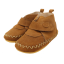 Ghetuțe barefoot de interior din piele întoarsă