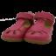 Sandale hot pink din piele
