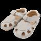 Sandale barefoot silver glitter