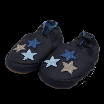 Botoși bebeluși bleumarin cu steluțe