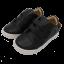 Pantofi sport ușori și flexibili negri