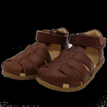 Sandale maro din piele Move by Melton