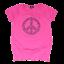 Tricou roz bufant cu imprimeu