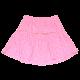 Fustiță roz cu buline și volan