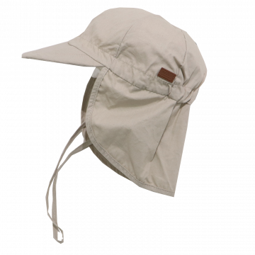 Șapcă bej din bumbac cu SPF30 Melton 45 cm (6-12 luni)