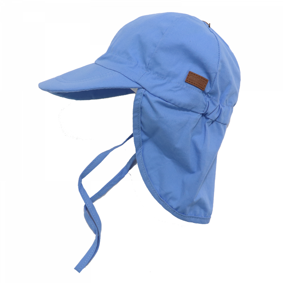 Șapcă albastră din bumbac cu SPF30