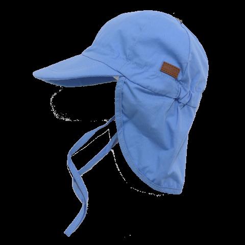 Șapcă albastră din bumbac cu SPF30 Melton 45cm (6-12 luni)