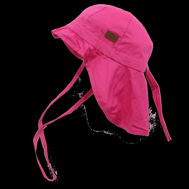 Pălăriuță roz cu SPF 30