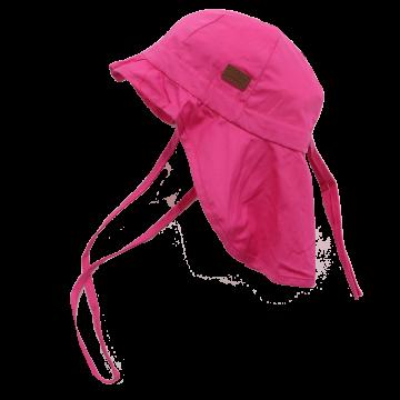Pălăriuță roz cu SPF 30 Melton 45 cm (6-12 luni)