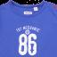 Bluză albastră cu mânecă lungă și imprimeu Toy Mechanic