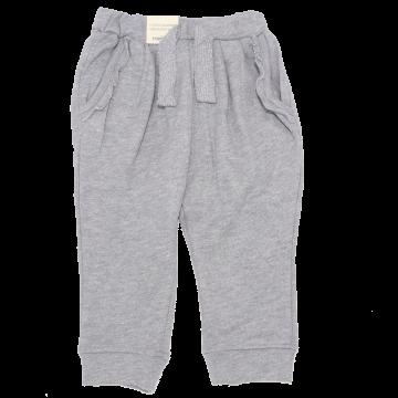 Pantaloni gri cu sclipici discret