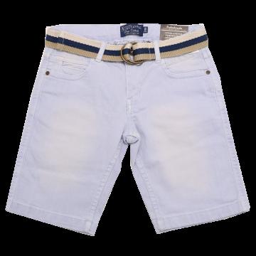 Pantaloni scurți din blugi bleu