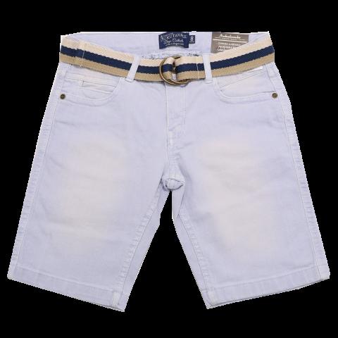 Pantaloni scurți din blugi bleu Nukutavake 7-8 ani (128cm)