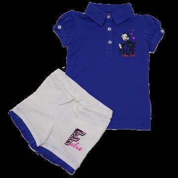 Set tricou și pantaloni scurți Felix Original Marines 2 ani (92cm)