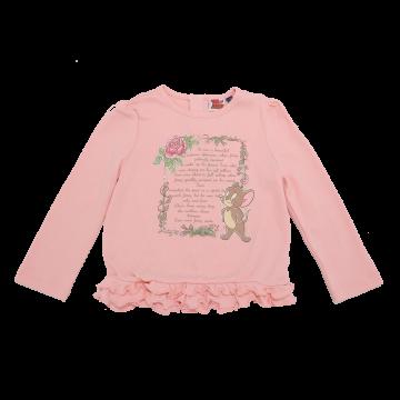 Bluză roz cu imprimeu Jerry