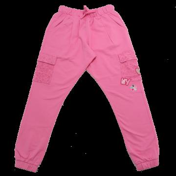 Pantaloni roz cu buzunare laterale din dantelă Original Marines 9-10 ani (140cm)