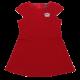 Rochiță roșie elastică, elegantă