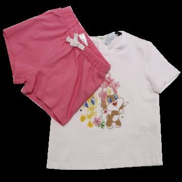 Set tricou și pantaloni scurți Aloha Original Marines 9-12 luni (80cm)