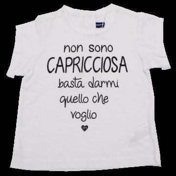 Tricou alb cu imprimeu text negru