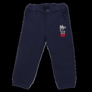 Pantaloni sport bleumarin cu imprimeu Felix the Cat