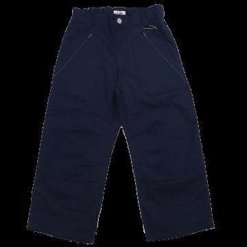 Pantaloni bleumarin cu talie ajustabilă