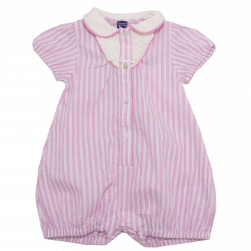 Romper elegant roz Papermoon 6-12 luni (76cm)