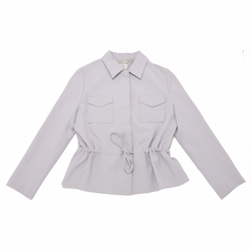 Jachetă retro gri