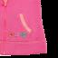 Hanorac roz cu glugă și buzunare