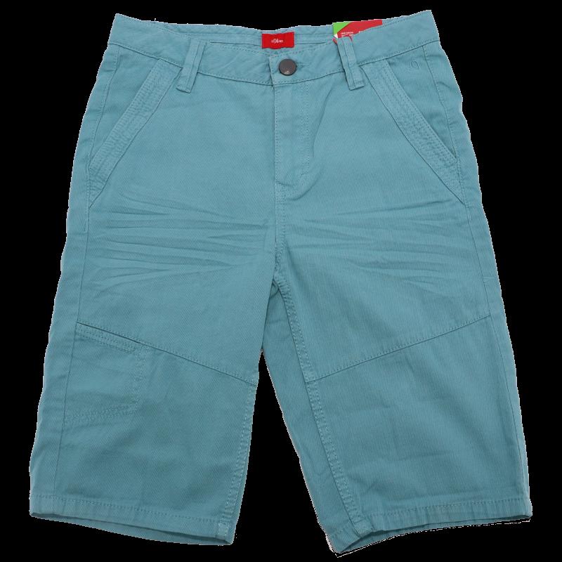 Pantaloni scurți turcoaz chino regular