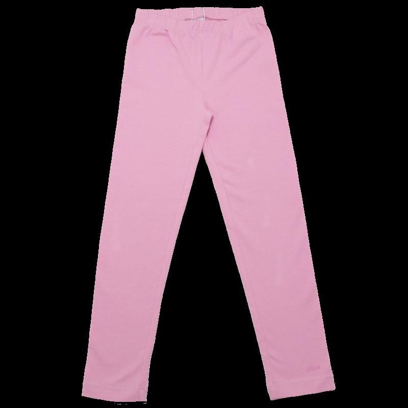 Colanți roz simpli