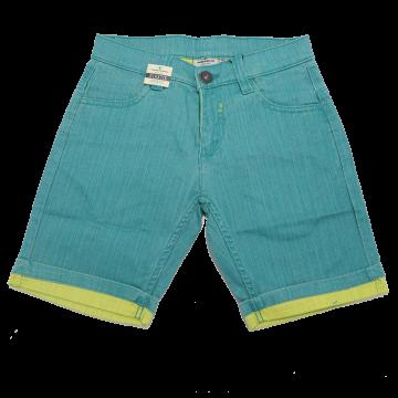 Pantaloni scurți turcoaz și verde Tom Tailor 12-13 ani (158cm)