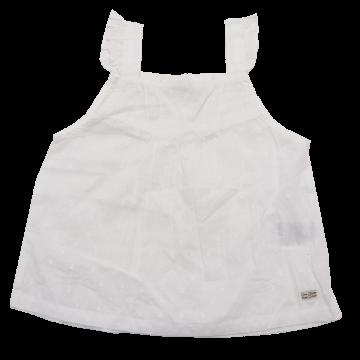 Rochie delicată albă Tom Tailor 6-9 luni (74cm)