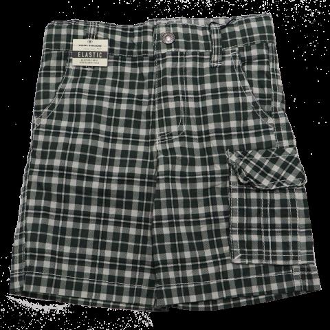 Pantaloni scurți în carouri albe și verzi Tom Tailor 2 ani (92cm)