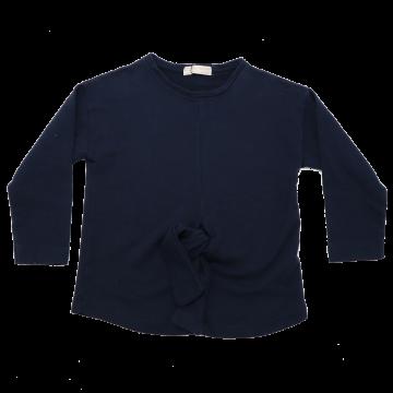 Bluză bleumarin cu nod în față Zara 5-6 ani (116cm), 9-10 ani (140cm)