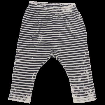 Pantaloni cu dungi, model uzat