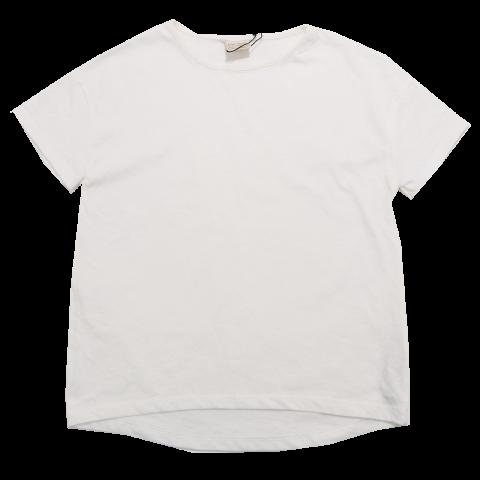 Tricou simplu alb Zara 7-8 ani (128cm)