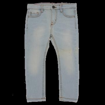 Jeans prespălați bleu