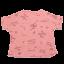 Tricou roz cu imprimeu text