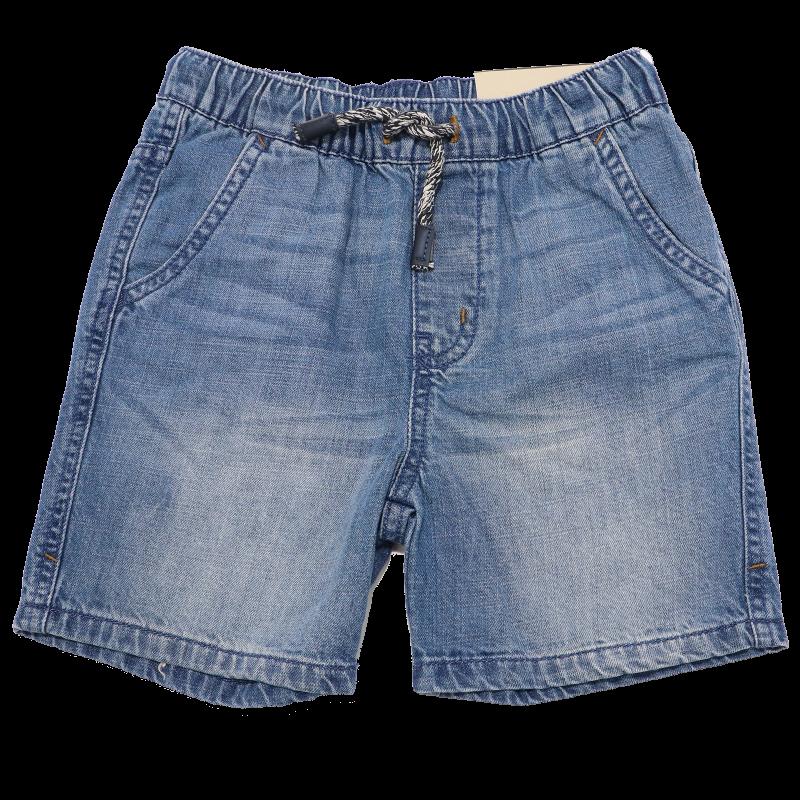 Pantaloni scurți din denim subțire