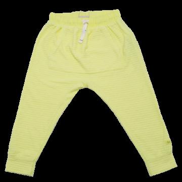 Pantaloni galben electric Zara 2-3 ani (98cm)